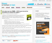 Blog E-Commerce Oxatis